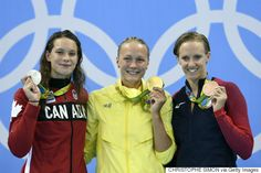Penny Oleksiak Wins Silver Medal For Canada At Rio Olympics