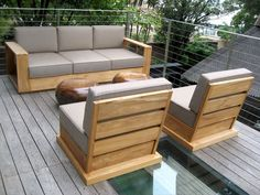 Emejing Modern Wooden Outdoor Furniture Ideas - Home Design Ideas ...