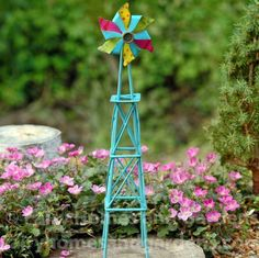 Fairy Homes and Gardens - Gypsy Fairy Garden Windmill, $18.90 (https://www.fairyhomesandgardens.com/gypsy-fairy-garden-windmill/)