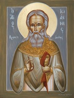 """St John of Kronstadt"" by ikonographics 