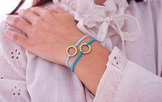 DIY Armband aus Stickgarn
