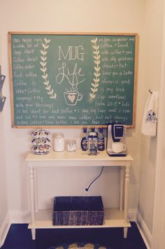 Coffee station // Home Love Stories