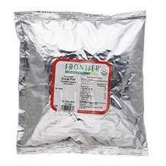 Frontier Herb Orange Peel Organic Granules Bulk 1 Lb