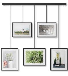 Umbra Exhibit Black Picture Frame (5-in x 7-in)   1013426-040