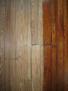 How to refinish a hardwood floor - the complete manifesto (Sanded down/first coat on by Kisså, via Flickr)