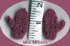 Blossom Knitwear - Mini Mitten Mittens Pattern, Baby Socks, Christmas Countdown, Christmas Projects, Little Things, Barbie Dolls, Knitwear, Knitting Patterns, Public