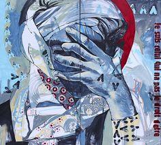 """Neuestes Werk von Ammar Abo Bakr: A Sufi Responds, 2015. Foto: WKE/ Claire Lise Déniel VÖLKLINGEN Die UrbanArt Biennale® 2015 im Weltkulturerbe Völklinger Hütte wird auch aktuelle Arbeiten zeigen, die sich mit dem Terroranschlag von Paris künstlerisch auseinandersetzen. Der ägyptische Künstler Ammar Abo Bakr hat dem Weltkulturerbe Völklinger Hütte sein neuestes Werk """"A Sufi Responds"""" zugesagt."""
