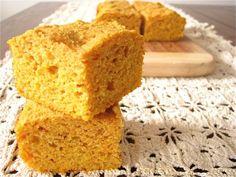 Sweet Potato Cornbread: Very moist, I put in 2 tablespoons sugar, 2 teaspoons baking powder, and used regular milk.