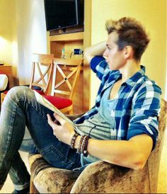 James from the Vamps