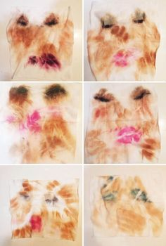 1 Woman Saved Her Used Makeup Wipes for a Week and They Sort of Look Like Art  - Seventeen.com