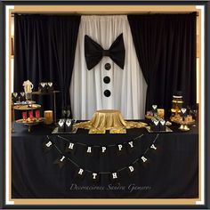 Suit And Tie Backdrop Display New Years Or Mens Party 50th Birthday Themes