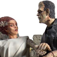 Universal Monsters Statue - Bride of Frankenstein