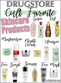 16 Holy Grail Drugstore Skincare Products You Need beauty regimen tips Drogerie Hautpflege Natural Hair Mask, Natural Skin Care, Anti Aging Skin Care, Natural Beauty, Skin Care Regimen, Skin Care Tips, Beauty Skin, Health And Beauty, Skin Care