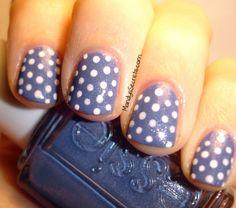 Polka Dot Nails.