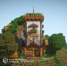 Minecraft House Designs, Minecraft Creations, Minecraft Projects, Minecraft Crafts, Minecraft Stuff, Minecraft Ideas, Minecraft Houses, Minecraft Decorations, Steampunk House