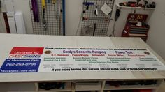FASTSIGNS of Menomonee Falls banner, made for and donated to Sussex Lions Club parade. Check us out at fastsigns.com/452, call us at #262-253-0799, email us at 452@fastsigns.com, or come visit us at W173N9170 St. Francis Drive, Suite 1, Menomonee Falls, WI 53051