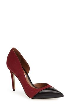 Steve Madden 'Paigely' Half d'Orsay Pump (Women) available at #Nordstrom
