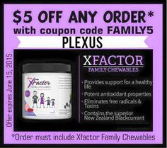 What chewable vitamin do you have in your house? Check artificial dyes and preservatives! Then get $5 off the most natural. #dplexuspower