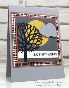 Here for You, Beautiful Branches Thinlits Dies, Stampin' Up!, Brian King