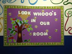 Classroom ideas for bulletin boards