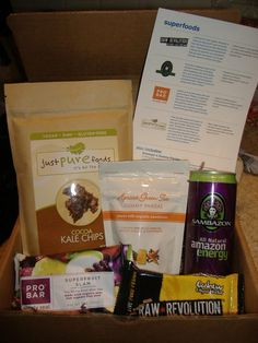 Our Superfoods box is guaranteed to make you feel super!