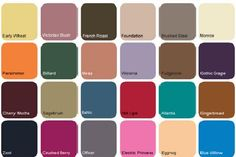 Pantone color palette Fall/ winter 2012/ 13 (more in depth, also includes some brief trend analysis)