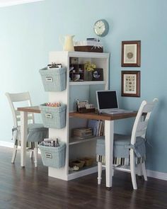 Desk for two!