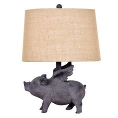 Hogs Fly Table Lamp | Jerome's Furniture