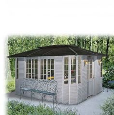 THE VISTA SUITE | Spa gazebos and hot tub enclosures by Sequoia Spa Shelters