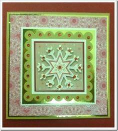 Primark Gift Tags. Christmas snowflake card