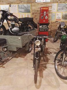 Museo Sala Team - Setter fue una marca de motocicletas española, fabricadas por Miguel Santonja en Elche, entre los años 50 y 70.