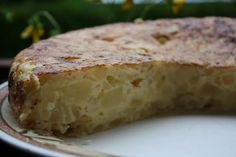La dieta mediterránea de nuestra familia: Tortillla española sin aceite ni grasas