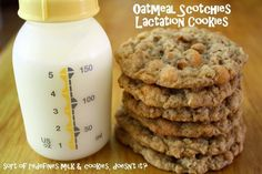 Making Mama's Kitchen: Oatmeal Scotchies (includes recipe for lactation cook. Making Mama's Kitchen: Oatmeal Scotchies (includes recipe for lactation cookie) Milk Booster, Oatmeal Scotchies, Oatmeal Cookies, Boost Milk Supply, Milk Makers, Breastfeeding Snacks, Lactation Recipes, Lactation Foods, Healthy Lactation Cookies