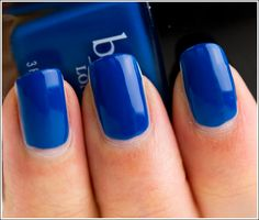 butter london - blagger  How insanely gorgeous is this blue!?