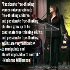 """~ Marianne Williamson ~ """" HELP STAMP OUT THE CONTROLLING GOP. BE 'DONE' WITH BEING MANIPULATED. VOTING 'WITH' WOMEN. VOTE BLUE."""