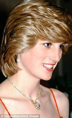 Perhaps more than any other part of her appearance, Diana's hair defined her. Here we detail how her look changed from 1981 through to one of her final public appearances. Princess Diana Wedding, Princess Diana Fashion, Princess Diana Pictures, Princess Diana Family, Princess Diana Hairstyles, Lady Diana Spencer, Diana Haircut, Short Hair Cuts, Short Hair Styles