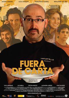 Fuera de carta es una producción española protagonizada por Javier Cámara. Narra la historia del dueño de un restaurante que de repente vé como su cómoda rutina se ve alterada...#fueradecarta #restaurante #javiercámara
