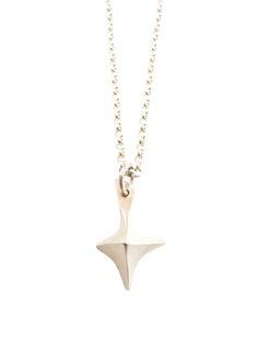 True North Necklace - sterling silver - Sharon Z Jewelry