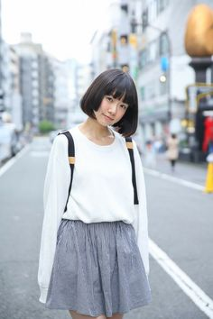 Street snap [Wada Rumi] | American Apparel, Adoshisuta, American Apparel | Shibuya | Fashionsnap.com