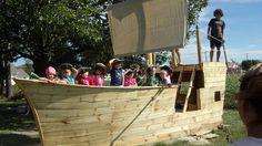 Every back yard needs a pirate ship.
