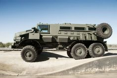 BAE CASSPIR MK6 RG Protector на базе URAL 4320