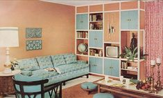Sherwin Williams Home Decorator 1960 Home Entertainment Unit 1960's style