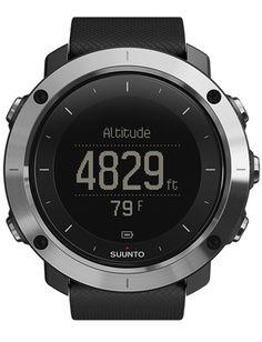 359b3780de8 Suunto Traverse Black - Hiking watch with GPS