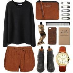 Shorts look comfy