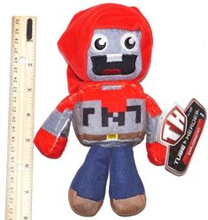 #EXPLODINGTNT #CHARACTER - FROM #TUBE #HEROES #STUFFED #PLUSH #TOY 7.5\