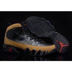 Mens Air Jordan Shoes Chrismas Gift Edition 9 Ix Retro Online Discount Brown Black