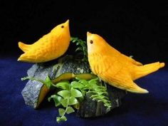 Amazing vegetable art carving - 34 Pics | Curious, Funny Photos / Pictures