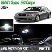Master White LED Interior Lighting Kit For BMW 1 Series E82 Coupe(2008+) 128i+Free Trim Remove Tool - #coupe #interior #lighting #master #remove #series #white - #new Bmw White, Bmw 1 Series, Interior Lighting, How To Remove, Free, Cutaway, Indoor Lights