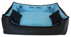 Legowisko dla psa www.petside.pl #legowisko #pies #handmade #rękodzieło #pieseł #dog #dogbed #bedfordog #dla psa
