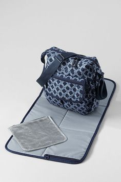 My favorite small diaper bag from Lands End - Little Tripper Print Diaper Bag $19.99